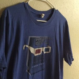 Mike Gordon Phish Concert Tee T Shirt Size L Blue